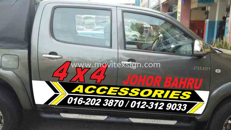 4x4 Advertising 4WD01 (click for more detail) 4x4 and MPV Vehicle Advertising Johor Bahru (JB), Johor, Malaysia. Design, Supplier, Manufacturers, Suppliers | M-Movitexsign Advertising Art & Print Sdn Bhd