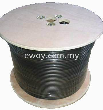 Full Copper RG59 Coaxial Cable CABLE AND ACCESSORIES Seri Kembangan, Selangor, Kuala Lumpur, KL, Malaysia. Supply, Supplier, Suppliers | e Way Solutions Enterprise