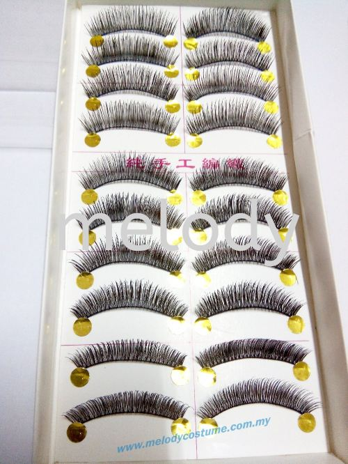 Thick Overlapping Criss Cross eyelashes - 902