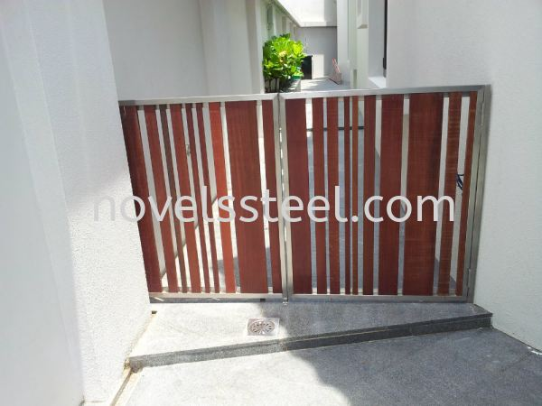 Stainless Steel Fence 004 Stainless Steel Fence Johor Bahru(JB), Malaysia. Manufacturer, Design, Supplies, Supplier | Novel Excellence Sdn Bhd