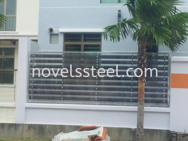 Stainless Steel Fence 005 Stainless Steel Fence Johor Bahru(JB), Malaysia. Manufacturer, Design, Supplies, Supplier | Novel Excellence Sdn Bhd