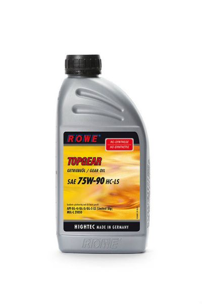 HIGHTEC TOPGEAR SAE 75W-90 HC-LS Axle and Manual Transmission Oils Gear Oils, Central Hydraulic. and Steering Fluids Petaling Jaya (PJ), Selangor, Malaysia. Suppliers, Supplies, Supplier, Supply | Racing Tech Lubricants Sdn Bhd