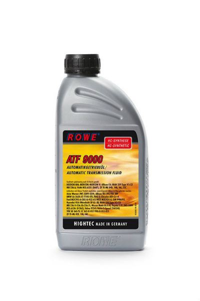 HIGHTEC ATF 9000 Automatic Transmission Fluids (ATF) Gear Oils, Central Hydraulic. and Steering Fluids Petaling Jaya (PJ), Selangor, Malaysia. Suppliers, Supplies, Supplier, Supply | Racing Tech Lubricants Sdn Bhd