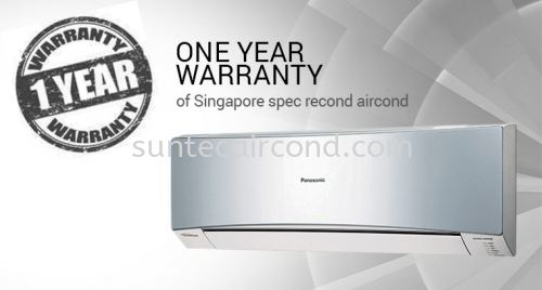 Singapore Spec Recond Aircond -One Year Warranty