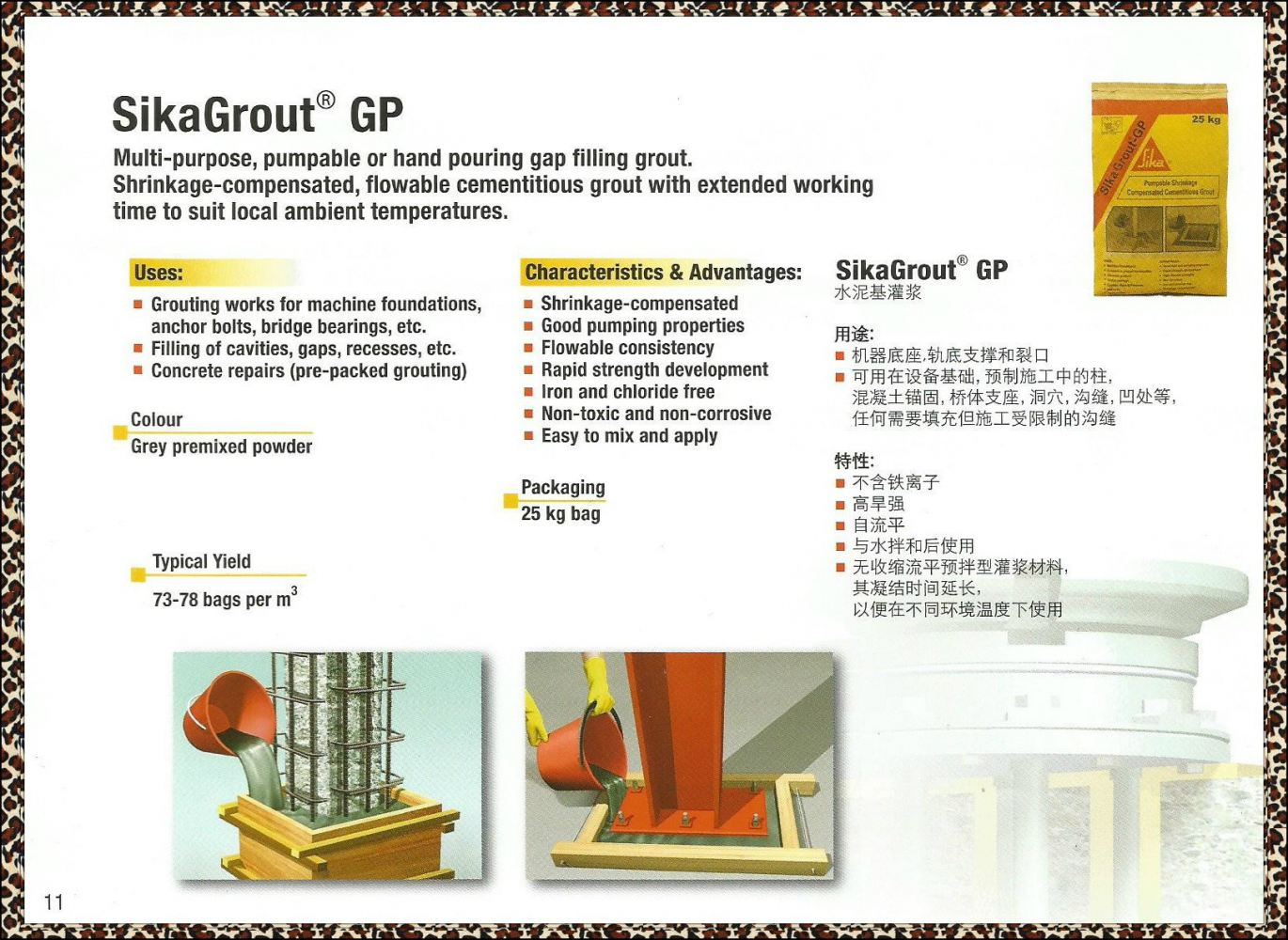 SIKAGROUT - GP