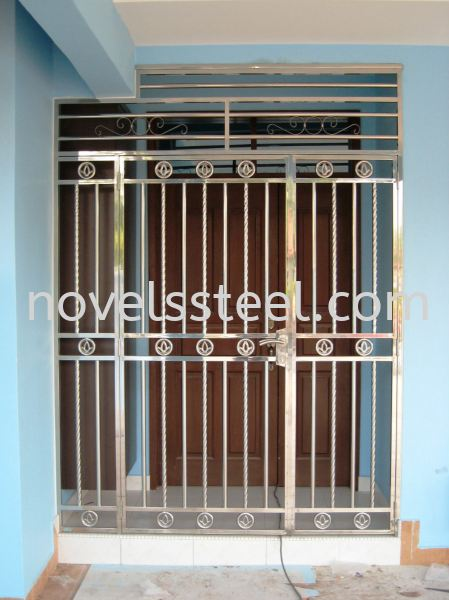 Stainless Steel Double door 027 Stainless Steel Double door Johor Bahru(JB), Malaysia. Manufacturer, Design, Supplies, Supplier | Novel Excellence Sdn Bhd
