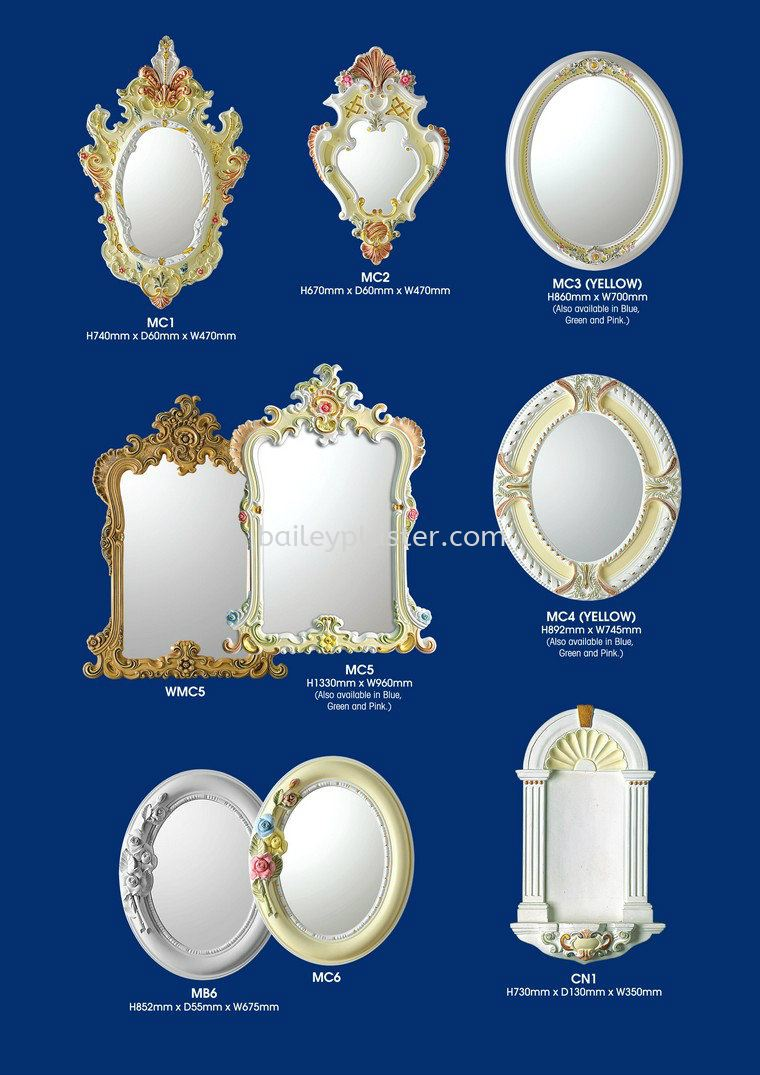 Mirrors / Niches Mirrors / Niches Malaysia, Selangor, Kuala Lumpur (KL) Supply, Supplier, Manufacturer, Exporter | Bailey Plaster Sdn Bhd