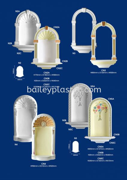 Mirrors / Niches Mirrors / Niches Malaysia, Selangor, Kuala Lumpur, KL. Supply, Supplier, Manufacturer, Exporter | Bailey Plaster Sdn Bhd