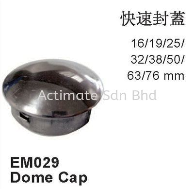 Dome Cap Capping Stainless Steel Accessories Malaysia, Puchong, Selangor. Suppliers, Supplies, Supplier, Supply, Manufacturer | Actimate Sdn Bhd