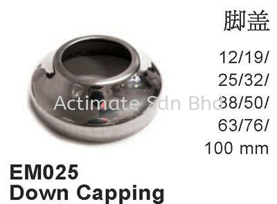 Down Capping Capping Stainless Steel Accessories Malaysia, Puchong, Selangor. Suppliers, Supplies, Supplier, Supply, Manufacturer | Actimate Sdn Bhd