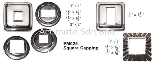 Square Capping Capping Stainless Steel Accessories Malaysia, Puchong, Selangor. Suppliers, Supplies, Supplier, Supply, Manufacturer | Actimate Sdn Bhd