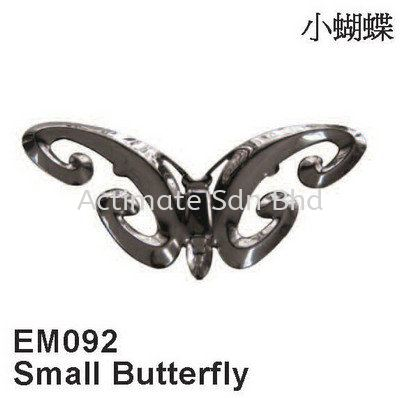 Small Butterfly Ornaments Stainless Steel Accessories Malaysia, Puchong, Selangor. Suppliers, Supplies, Supplier, Supply, Manufacturer | Actimate Sdn Bhd