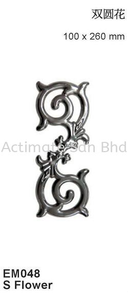 S Flower Ornaments Stainless Steel Accessories Malaysia, Puchong, Selangor. Suppliers, Supplies, Supplier, Supply, Manufacturer | Actimate Sdn Bhd