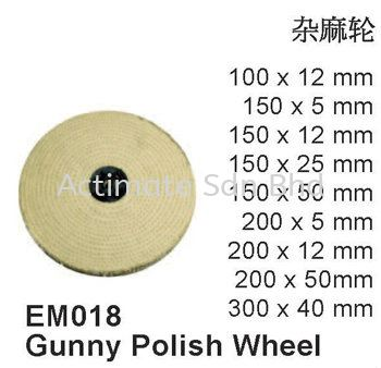 Gunny Polish Wheel Polishers Malaysia, Puchong, Selangor. Suppliers, Supplies, Supplier, Supply, Manufacturer | Actimate Sdn Bhd