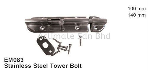 Stainless Steel Tower Bolt Locks / Bolts Stainless Steel Accessories Malaysia, Puchong, Selangor. Suppliers, Supplies, Supplier, Supply, Manufacturer | Actimate Sdn Bhd
