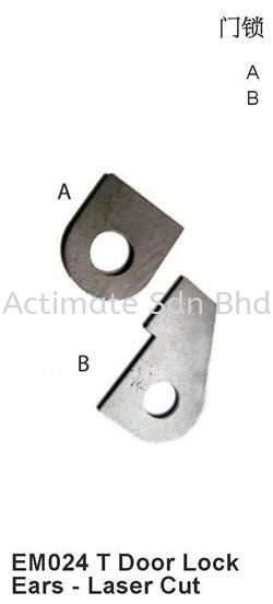Door Lock Ears - Laser Cut Locks / Bolts Stainless Steel Accessories Malaysia, Puchong, Selangor. Suppliers, Supplies, Supplier, Supply, Manufacturer | Actimate Sdn Bhd