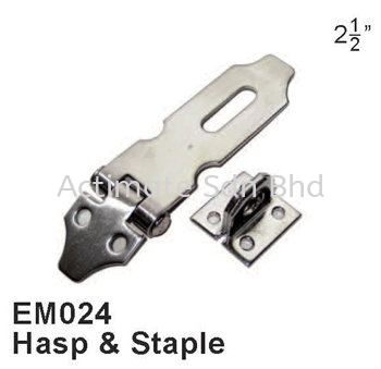 Hasp & Staple Locks / Bolts Stainless Steel Accessories Malaysia, Puchong, Selangor. Suppliers, Supplies, Supplier, Supply, Manufacturer | Actimate Sdn Bhd