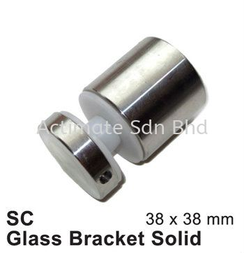 SC Glass Bracket Solid 02 Glass Bracket Malaysia, Puchong, Selangor. Suppliers, Supplies, Supplier, Supply, Manufacturer | Actimate Sdn Bhd