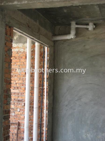 Plumbing Works - Shah Alam / Kota Kemuning / Taman Sri Muda Electrical and Plumbing Works Port Klang, Selangor, Malaysia.  | Yap Brothers Construction Sdn Bhd