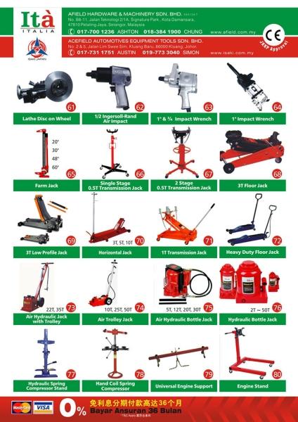 ita_catalogue4 General Catalogs Malaysia, Petaling Jaya (PJ), Selangor. Supplier, Suppliers, Supply, Supplies | Afield Hardware & Machinery Sdn Bhd