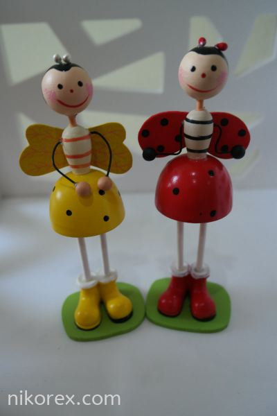 34025-WOODEN DOLLS-KD06 WOODEN DOLL Malaysia Johor Bahru JB Supplier, Supply, Manufacturer | Nikorex Display Products (M) Sdn Bhd