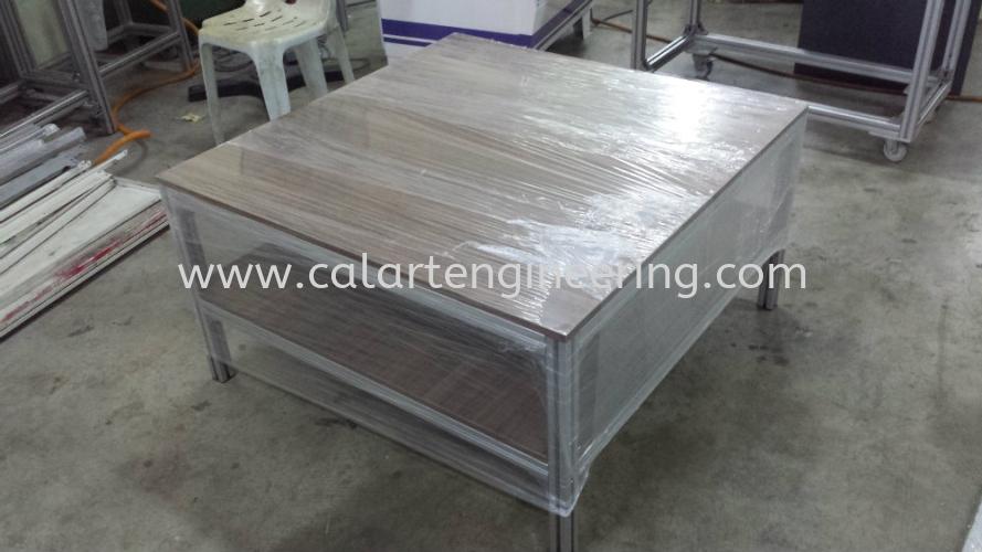 Aluminium Coffee Table