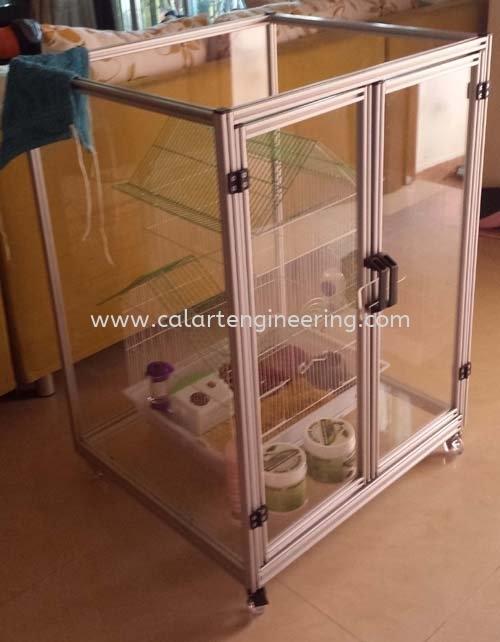 Aluminium Pet Cage