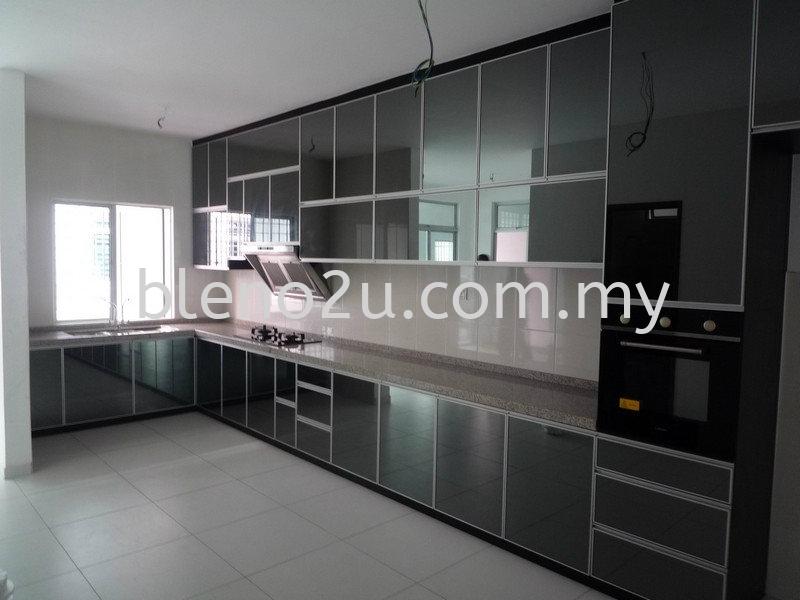 Taman Rini Hill Aluminium Kitchen Cabinet Johor Bahru (JB), Malaysia Supplier, Suppliers, Supplies, Supply, Manufacturer | BLone Enterprise Sdn Bhd