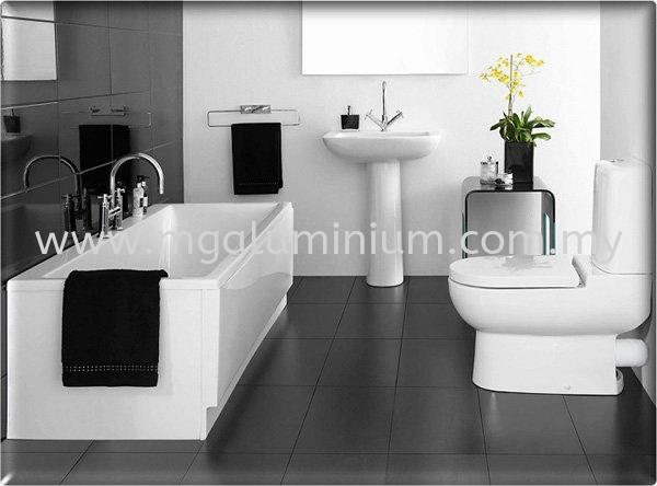 Bathroom Design Interior Design Johor Bahru (JB), Johor. Design, Installation, Supply | MG Aluminium & Glass Works