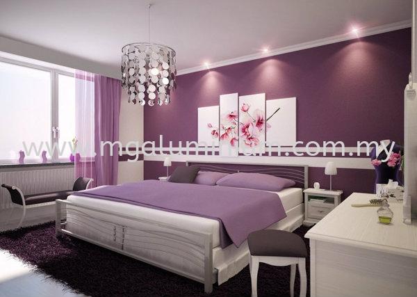 Bedroom Design Interior Design Johor Bahru (JB), Johor. Design, Installation, Supply   MG Aluminium & Glass Works