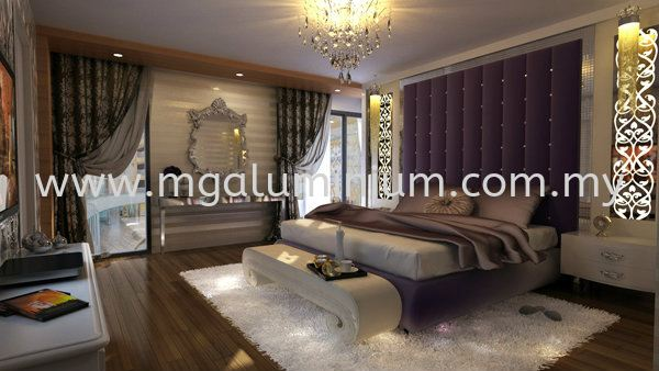 TV Console Design Interior Design Johor Bahru (JB), Johor. Design, Installation, Supply | MG Aluminium & Glass Works