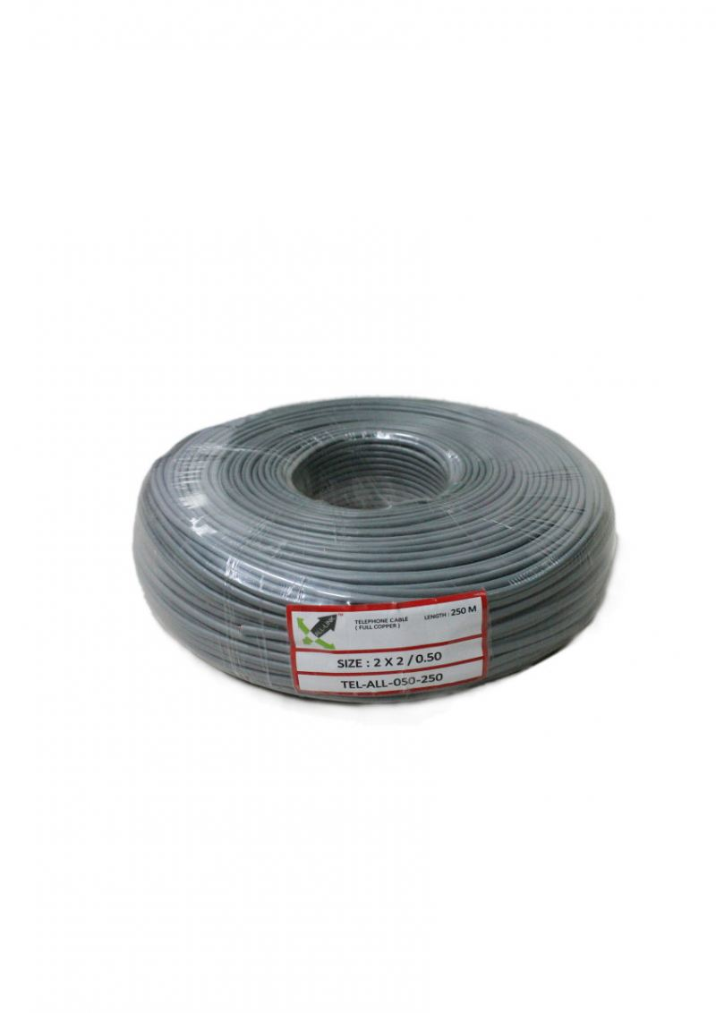 Telephone cable 0.50 BC 250M