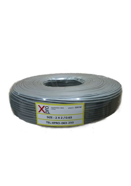Telephone  Cable 0.63 CCA 250M Telephone Cable Telephone Components Johor Bahru (JB), Malaysia Suppliers, Supplies, Supplier, Supply | HTI SOLUTIONS SDN BHD