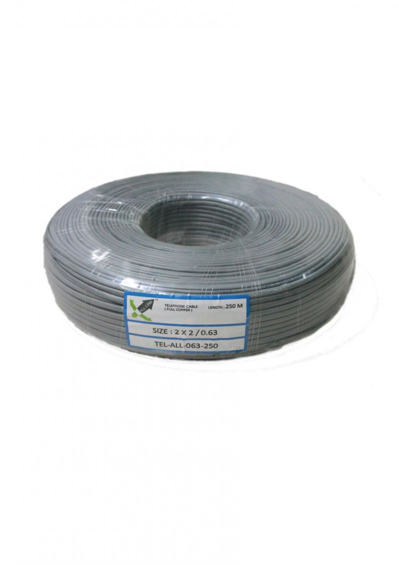 Telephone cable 0.63 BC 250M