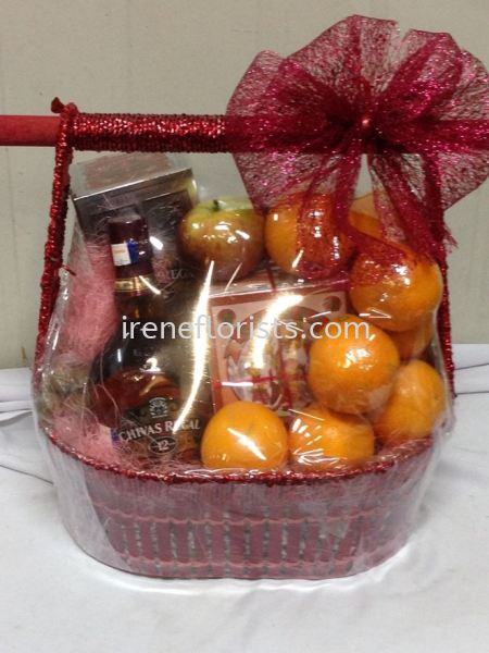fruits hamper 003 Fruit and Floral Basket Taiping, Perak, Malaysia. Suppliers, Supplies, Supplier, Supply | Irene's Florists De Beaute