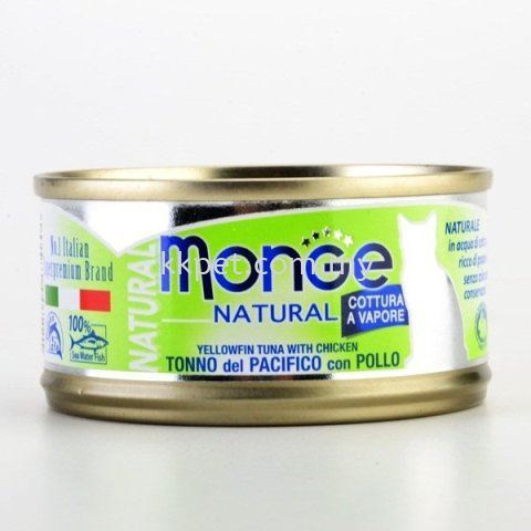 Monge Natural Yellowfin Tuna With Chicken Monge Cat Canned Food Kuala Lumpur (KL), Malaysia, Selangor, Setapak Supplier, Retailer, Supply, Supplies | K & K Pet Avenue