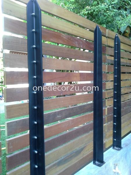 Fence Fence Construction Sungai Buloh, Selangor, Kuala Lumpur (KL), Malaysia. Interior Design, Renovation, One Stop   The One Decor Enterprise