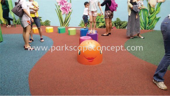 Pour-in Place / Wet-pour System EPDM Rubflex Puchong, Selangor, Kuala Lumpur, KL, Malaysia. Manufacturer, Supplier, Supplies, Supply | Parkscape Concept Sdn Bhd