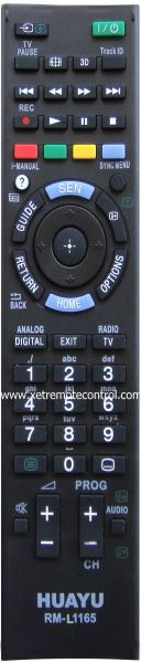 RM-L1165 SONY LCD/LED TV REMOTE CONTROL  SONY LCD/LED TV REMOTE CONTROL Johor Bahru JB Malaysia Manufacturer & Supplier | XET Sales & Services Sdn Bhd