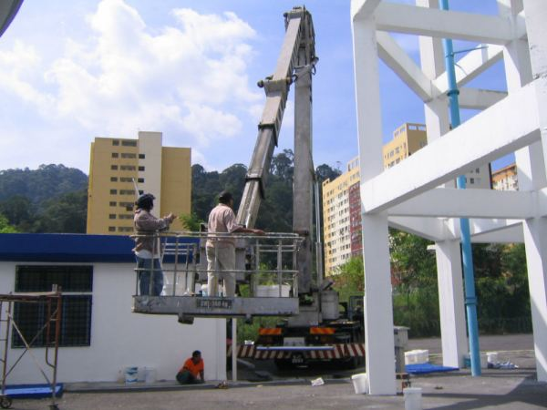 Suction Tank Outdoor Painting Service Kuala Lumpur, KL, Selangor, Malaysia. Painting Service, Contractor, One Stop | Xiang Sheng Construction