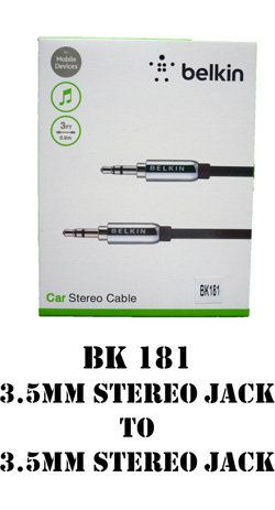 BK181 3.5MM Stereo Jack to 3.5MM Stereo Jack Mini Stereo Cable CABLE Johor Bahru, JB, Johor. Supplier, Suppliers, Supplies, Supply | SCE Marketing Sdn Bhd