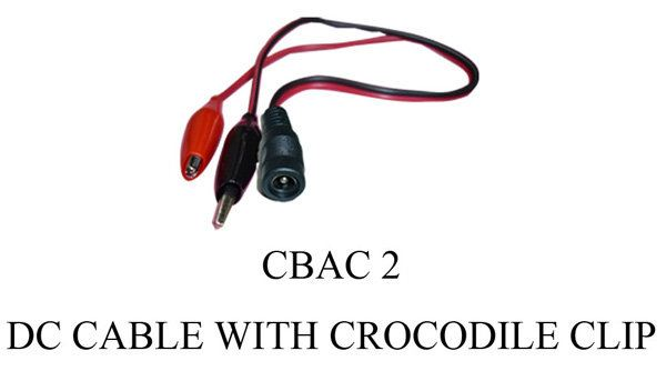 CBAC 2 DC Cable with Crocodile Clip Battery Charger BATTERY CHARGER Johor Bahru, JB, Johor. Supplier, Suppliers, Supplies, Supply | SCE Marketing Sdn Bhd