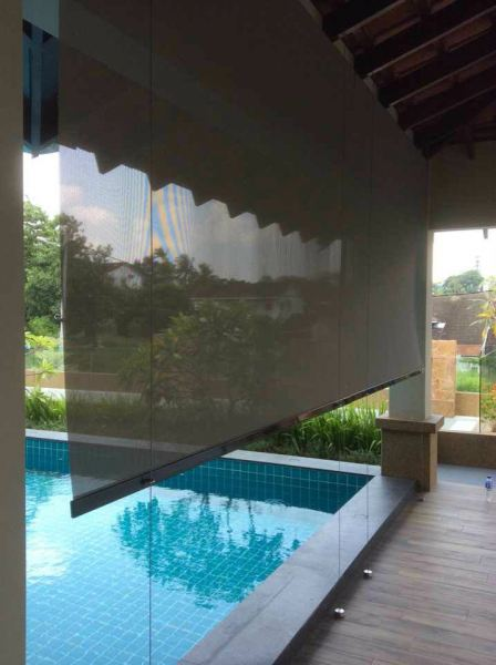 Outdoor Blinds Outdoor Blinds Johor Bahru (JB), Malaysia, Tampoi Supplier, Suppliers, Supplies, Supply   Kim Curtain Design Sdn Bhd