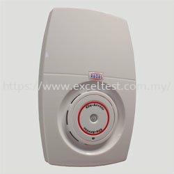 CSA-GSV/R - Wirefree Combined Smoke Detector & SpeechPOD c/w Voice Alarm