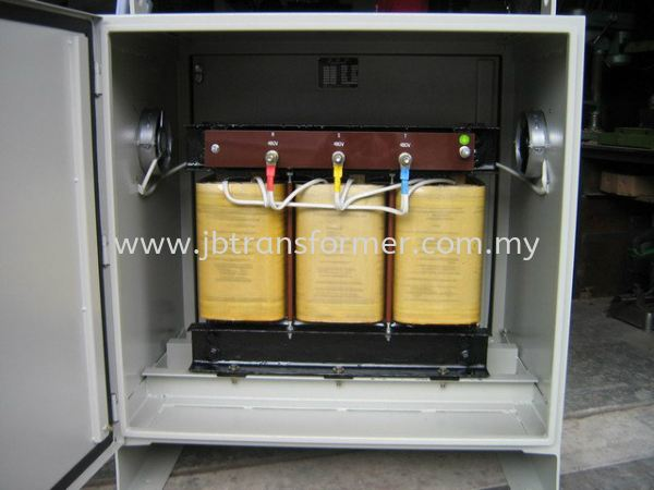Three Phase Isolating Transformer c/w metal casing & cooling fan Three Phase Transformer Johor Bahru (JB), Malaysia, Johor Jaya Manufacturer, Supplier, Supply, Supplies | JB Transformer Sdn Bhd