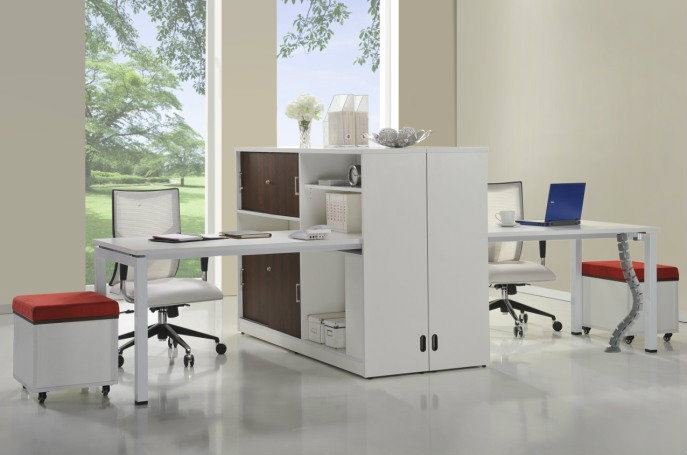 WHITE Solution - 002 Workspace Desking System  Malaysia, Selangor, Kuala Lumpur (KL), Puchong Supplier, Suppliers, Supply, Supplies | Kenwei Office System Sdn Bhd
