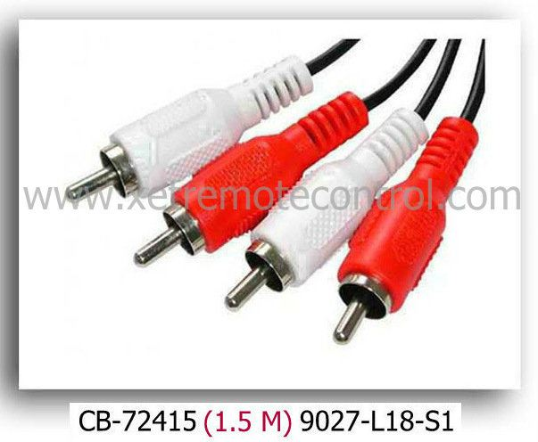 1.5 METER RCA CABLE CABLE PRODUCT Johor Bahru JB Malaysia Manufacturer & Supplier   XET Sales & Services Sdn Bhd