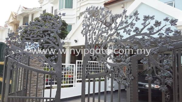 1st 3D Main Gate In Your Malaysia Main Gate Selangor, Malaysia, Balakong, Kuala Lumpur (KL) Service, Supplier, Supply, Installation | Win Yip Gate & Roof Sdn Bhd