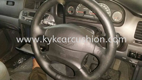 Steering Wheel Leather Hyundai Steering Wheel Leather Kuala Lumpur, KL, Cheras, Selangor, Malaysia. Supplier, Supply, Supplies, Installation | KYK Auto Leather Enterprise