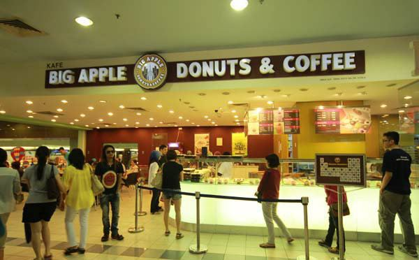 Big Apple Donuts and Coffee Stainless Steel 3D Led Signboard Beranang, Selangor, Kuala Lumpur, KL, Malaysia. Supplier, Manufacturer, Supplies, Supply | My Sign Enterprise Sdn Bhd